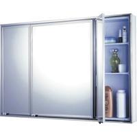 Armário De Sobrepor Liso 3 Portas 1104 - 49X71Cm - Cris Metal