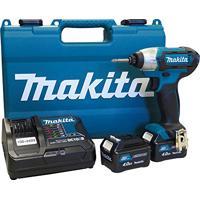 Parafusadeira De Impacto 1/4 2 Baterias 12V 4Ah Td110Dsme Makita