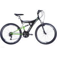 Bicicleta Track Bikes Tb 300 Xs 300 Aro 26 Com Suspensão Dupla 18V - Masculino