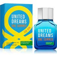 Perfume Masculino One Summer Him Benetton Eau De Toilette 100Ml - Masculino-Incolor