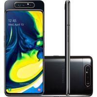 "Smartphone Samsung Galaxy A80 128Gb 8Gb Tela 6.7"" Câmera Traseira Tri"