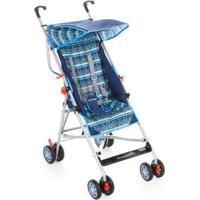 Carrinho De Bebê Umbrella Slim Parapasseio Voyage - Masculino-Azul