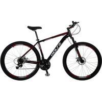 Bicicleta Woltz Aro 29 Freios A Disco 21 Velocidades Quadro Alumínio Câmbios Shimano - Unissex