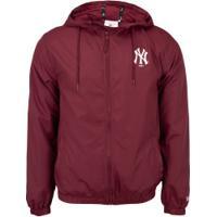 Jaqueta Com Capuz New Era New York Yankees - Masculina - Vermelho