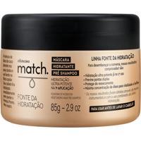 Match Fonte Da Hidratação Máscara Capilar, 85G