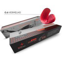 Tintura Para Cabelo Pratik Pro Durabilidade 60G 0.6 Vermelho - Unissex-Incolor