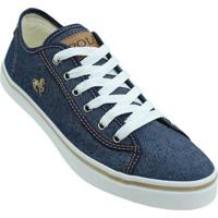 Tênis Polo Jeans Tropical Casual Masculino - Masculino-Azul Escuro