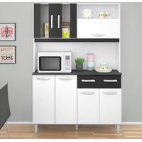 Kit Cozinha Ellen 7 Portas E 2 Gavetas - Poquema