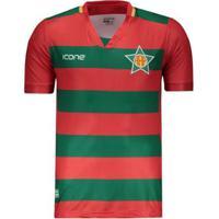 Camisa Ícone Sports Portuguesa Rj Iv 2019 - Masculino
