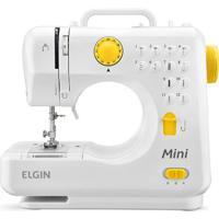 Maquina De Costura Bl-1004 Mini 4 Pontos Branco Elgin Bivolt