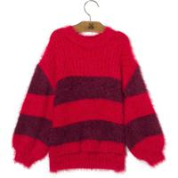 Blusa Oversized Striped Kids (Listrado, 08)