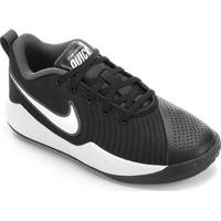 Tênis Infantil Nike Team Hustle Quick 2 Gs - Masculino-Preto+Branco