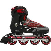 Patins Roller Bel Sports Inline B Future 7000 Tam 43 Vermelho
