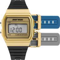 afc479030f6ee Relógio Mormaii Feminino Troca Pulseira Mojh02Af 8D