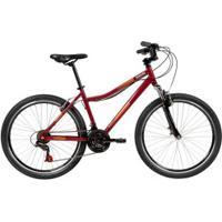 Bicicleta Caloi Rouge - Aro 26 - Freio V-Brake - Adulto - Vinho