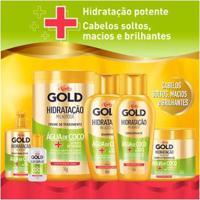 Kit Shampoo + Condicionador Niely Gold Hidratação Milagrosa Água De Coco Kit - Feminino-Incolor