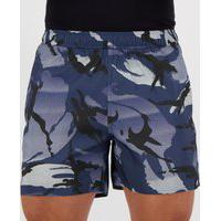 Short Adidas Swimming Camuflado Azul