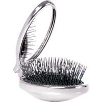 Escova De Cabelo Wetbrush - Portátil Com Espelho - Unissex-Incolor