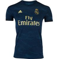 Camisa Real Madrid Ii 19/20 Adidas - Masculina - Azul Escuro