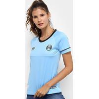 Camisa Grêmio Ii 2018 S/N° Charrua Torcedor Umbro Feminina - Feminino
