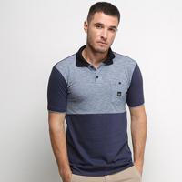 Camisa Polo Nicoboco Slim Fit Sicily Masculina - Masculino-Marinho