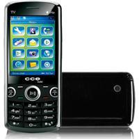 Celular Cce Mobi C10 - Dual Chip - Bluetooth - Tv-Out - Dual Core - Mp3 - Rádio Fm - Preto