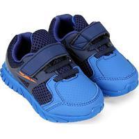 Tênis Infantil Klin Baby Freedom - Masculino-Marinho+Azul