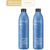 Kit Shampoo Redken Extreme Reconstrução + Condicionador Extreme Reconstrução - Unissex-Incolor