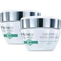 Kit Renew Clinical Clareador & Textura Uniforme Creme Multi-Clareador Facial 30G - Unissex