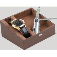7de972484e7 CEA  Kit De Relógio Analógico Mondaine Masculino + Canivete -  53516Gpmvdh1Ka Dourado - Único