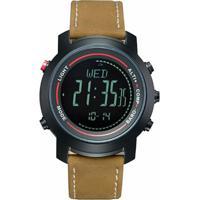 Relógio Spovan Digital Mg01 Preto - Masculino