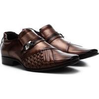 Sapato Social Couro Rafarillo - Masculino-Marrom