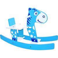 Cavalinho Gangorra Junges Azul