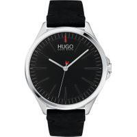 Relógio Hugo Boss Masculino Couro Preto - 1530133