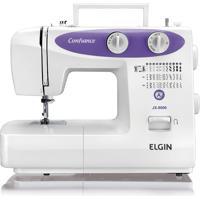 Máquina De Costura Jx6000 Confiance 220V-Elgin - Branco