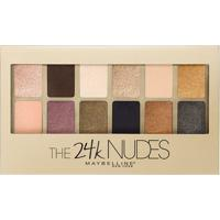 Paleta De Sombra Maybelline - The 24K Nudes Palette Gold 1 Un - Feminino-Incolor