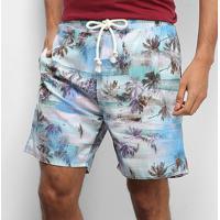 Short Gajang Floral Tropical Masculino - Masculino-Floral