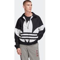 Blusão E Jaqueta Adidas Bg Trefoil Tt Preto
