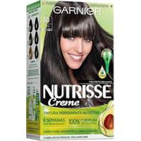 Coloração Nutrisse Garnier 30 Grafite Preto - Unissex-Incolor