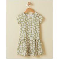 Amaro Feminino Vestido Infantil Basic Curto Estampado, Mini Fresh Poa