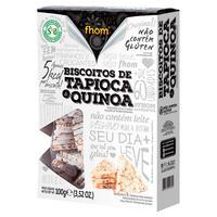 Biscoito De Tapioca Com Quinoa 100G - Fhom