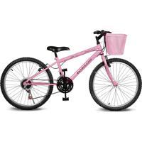 Bicicleta Kyklos Bikes Aro 24 Magie 21V Rosa