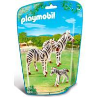 Mini Figuras Playmobil - Animais Zoo - Série 1 - 6641 - Sunny - Unissex-Incolor