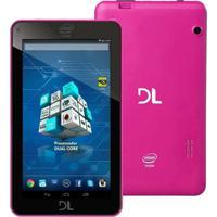 """Tablet Dl X-Pro 7"""" 8Gb Wi-Fi Tp266Bra Rosa"""