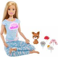 Boneca Barbie Fashionista Medita Comigo