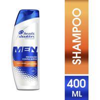 Shampoo Masculino Head & Shoulders Anticaspa Prevenção Contra Queda - 400Ml