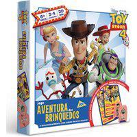 Jogo De Tabuleiro - Aventura Dos Brinquedos - Toy Story 4 - Disney - Toyster