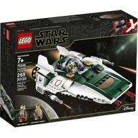 Lego Disney - Disney Star Wars - Nave - Resistance - A-Wing - Starfighter - 75248