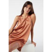 Blusa Comprida Em Seda - Rosa G
