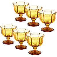 Conjunto De Taças Para Champagne Com 6 Unidades Imperial Âmbar 230 Ml